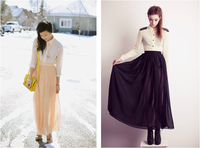 Maxi Skirt - whattowearwith